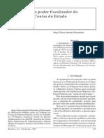 Os Limites Do Poder Fiscalizador Do Tribunal de Contas Do Estado - Jorge U. Jacoby Fernandes