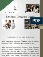 Conceitos e definições de serviços