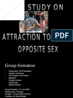 Attraction Towards Opposite Sex