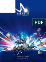Merlin Annual Report and Accounts 2012