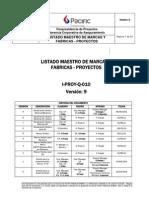 i Proy q 010 List Marcas Fabric v9!08!09 2011