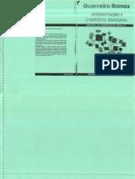 Guerreiro Ramos (1983). Administração e contexto brasileiro esboço de uma teoria geral da administração