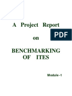 Bench Marking of ITES Module - 1