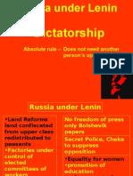 Dictatorship and Treaty of Brest-Litovsk