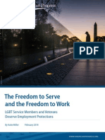 The Freedom to Serve and the Freedom to Work