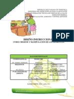 DISEÑO_INSTRUCCIONAL_CURSO HIGIENE Y MANIPULACIÓN DE LOS ALIMENTOS