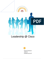 Leadership at Cisco