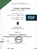 Censo de Argentina de 1914. Tomo 8.