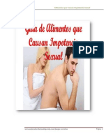 Alimentos Que Causan Impotencia Sexual