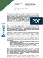 Social Media Monitor (Bocconi report)