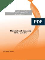 Mat Financeira - Exercicios