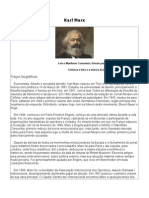 Karl Marx Traços biográficos