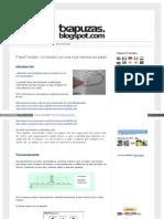 Txapuzas Blogspot Com Es 2009 12 Paperteclado Un Teclado Con