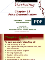 Chapter 13 Price Determination