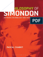 Chabot, Pascal - The Philosophy of Simondon. Between Technology and Individuation