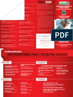 Banner Diplomado Criminalistica Penal Acusatorio