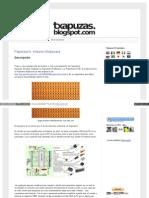 Txapuzas Blogspot Com Es 2010 07 Paperduino Stripboard HTML