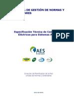 ET Conductores Eléctricos para Sistemas Aereos