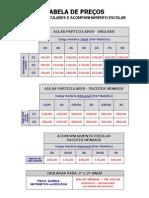 Tabela de Precos1