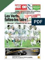 Edition du 11 octobre 2009