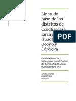 INFORME LINEA DE BASE REGIÓN HUANCAVELICA
