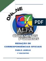 Apostila Alfa - Redação Oficial - Encontro 01