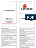 Maquina de Solda Mig Mag - Tdg 405 Ed - Bambozzi