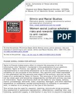 Feminist Anti-racist Scholar