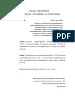 JUIZADOS ESPECIAIS CÍVEIS - Uma_abordagem_ critica