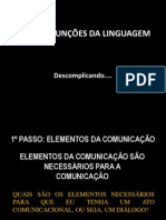 REVISÃO FUNÇÕES DA LINGUAGEM