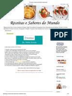 Receitas e Sabores Do Mundo_ Dieta Dukan