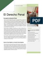1 Derecho Penal Concepto Caracteristicas Funciones y Efectos