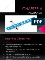 CHAPTER 4- Insurance