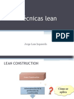 Tecnicas Lean
