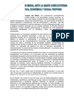 Declaracion de Aragua Sin Miedo (24/02/2014)