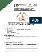 Programa Anual Ua Sa Ugel 09 2014