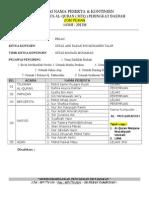 Borang Senarai Nama Kontinjen MTQ 2013 ( Zon Pekan )