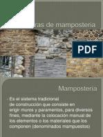 Estructuras de Mamposteria