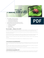 Diferencia Led Lcd Plasma Para Ver Mejor