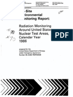 Off Site Environemntal Monitoring Report Radiation Monitoring Around US Nuclear Test Areas Calendar Year 1986 DOENV_0539-58