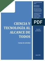 CIENCIA y TECNOGÍA AL ALCANCE DE TODOS
