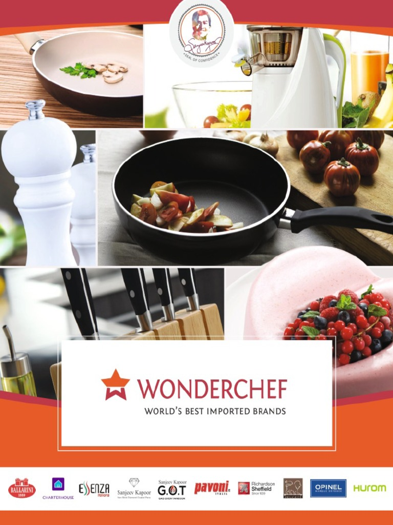 Sanjeev kapoors wonderchef cookware brochure forumfinder Images