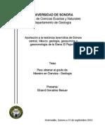 Aportación a la tectónica laramídica de Sonora central, México