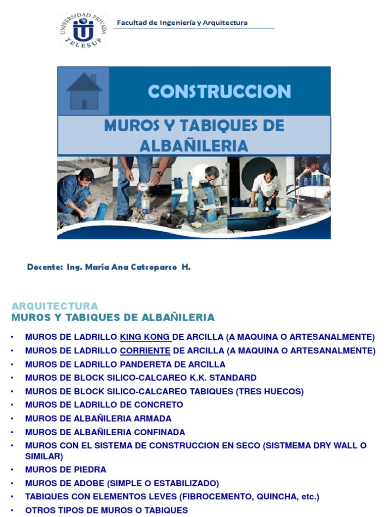 3.MUROS Y TABIQUES DE ALBAÑILERIA - photo#9