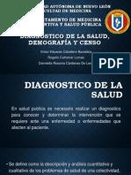 Diagnostico de la Salud, Demografía y Censo casi completa