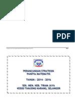 Pelan Strategik Panitia Matematik Format Baru 2014