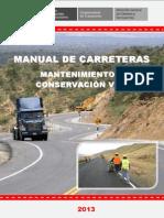 Manual de Carreteras Conservación Vial Final