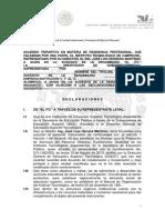 Acuerdo Tripartita de Residencia Profesional