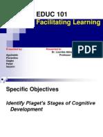 EDUC 101 Facilitating Learning