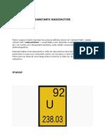 Substante Radioactive
